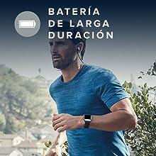 Fitbit Flyer Auriculares Inalámbricos, Unisex Adulto, Azul