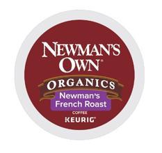 Newman's Own Organics Coffee, Newmans Own, K-Cup Pods, K-cups, Kcups, coffee pods, coffee maker
