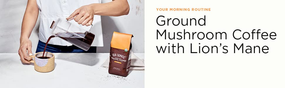ground coffee header