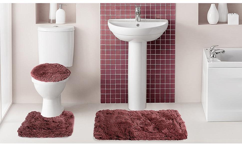 bathroom rugs, bathroom mats, bath mats, bathroom carpet, microfiber bathroom rug