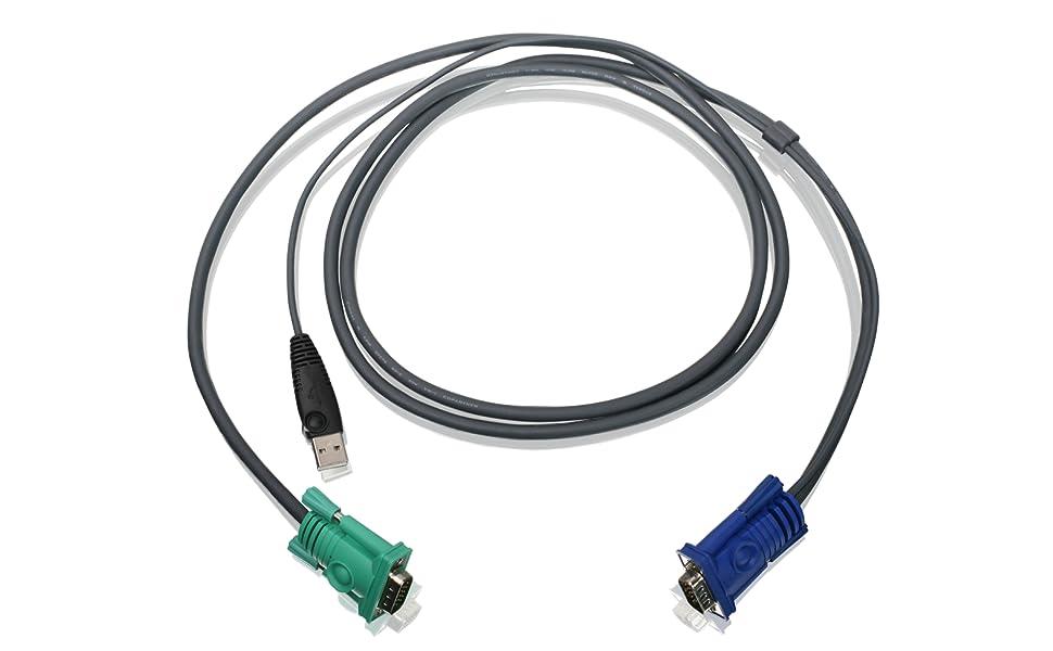 IOGEAR G2L5202U 6/' FT USB KVM Cable  GCS1716 GCS1742 GCS1744 Switch Box