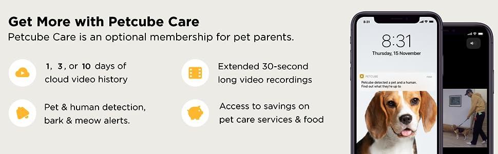 Petcube Care subscription service