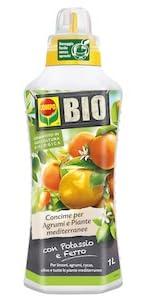Concime biologico liquido agrumi