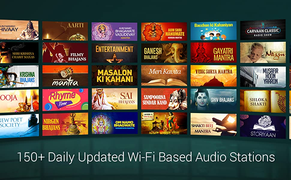 150+ Daily Updated Wi-fi Bases Audio Stations