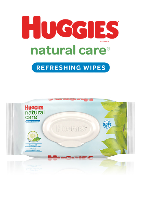Refreshing Clean Scented Baby Wipes
