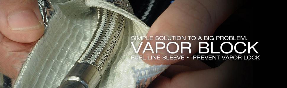 x 36 Fuel Line Sleeve Design Engineering 010672 Vapor Block 1 I.D