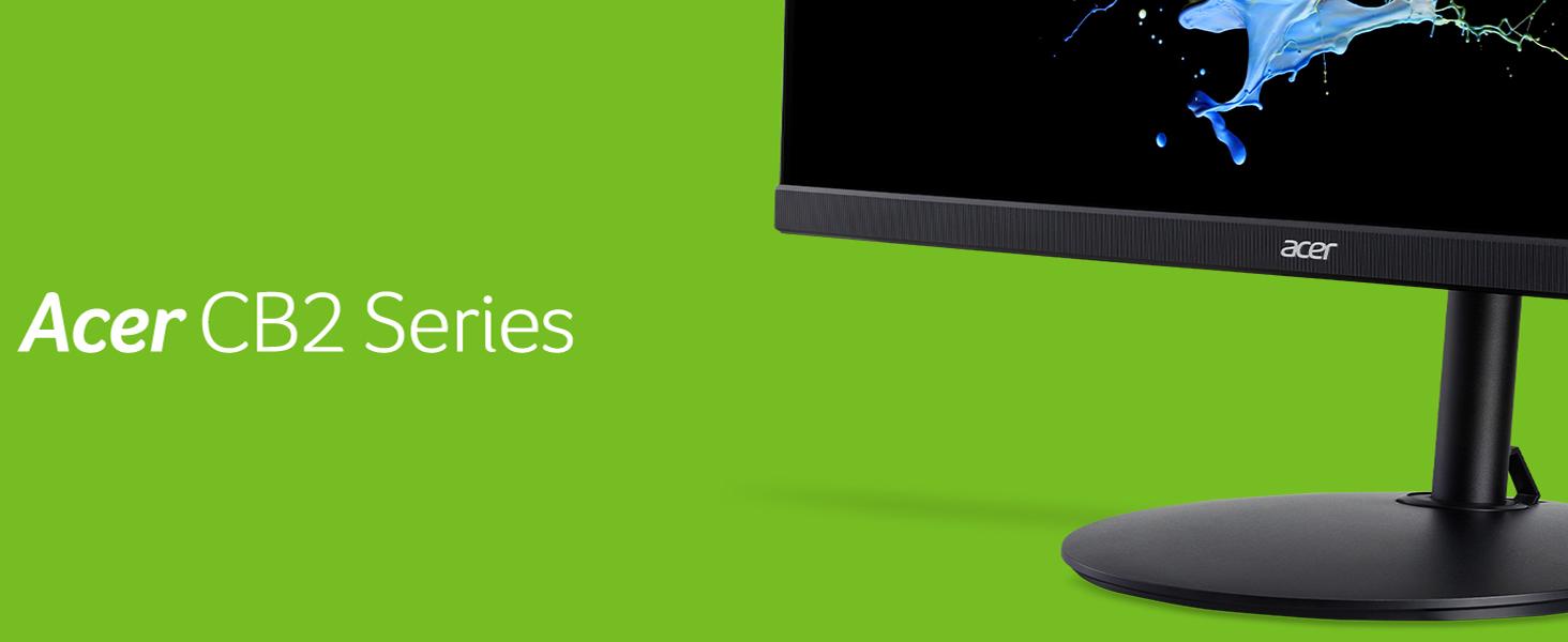 "Acer CB242Y Amazon Choice 23.8"" Full HD Radeon Freesync 1ms 75Hz IPS Monitor Display"