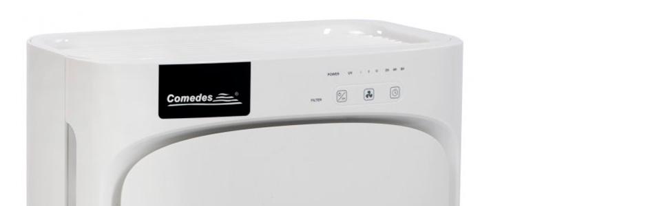 Purificador de aire Comedes Lavaero, ionizador de aire, actúa contra el polvo, el polen y los malos olores (tamaño de la estancia de hasta 40 m²): Amazon.es: Bricolaje y herramientas