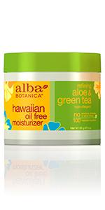 Hawaiian Aloe & Green Tea Oil-Free Moisturizer