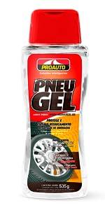 limpa pneus gel proauto pretinho