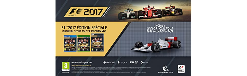 f1 2017 special edition pc jeux vid o. Black Bedroom Furniture Sets. Home Design Ideas