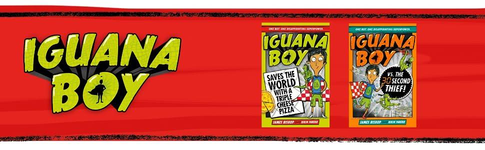 Iguana Boy Books