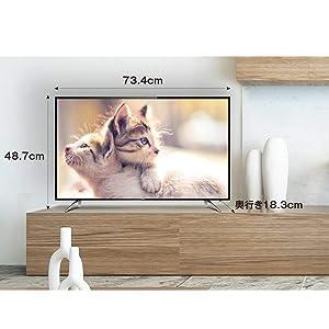 stylish design; tv; tcl