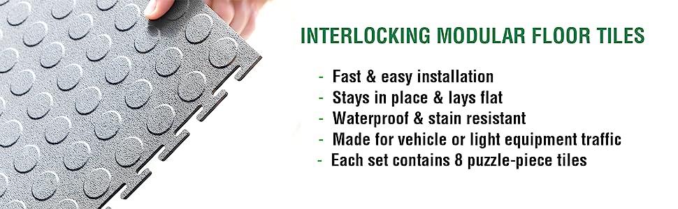 interlocking tile, home gym flooring, puzzle piece flooring, modular flooring