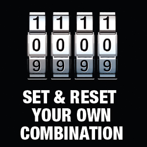Set Your Own Combination Lock