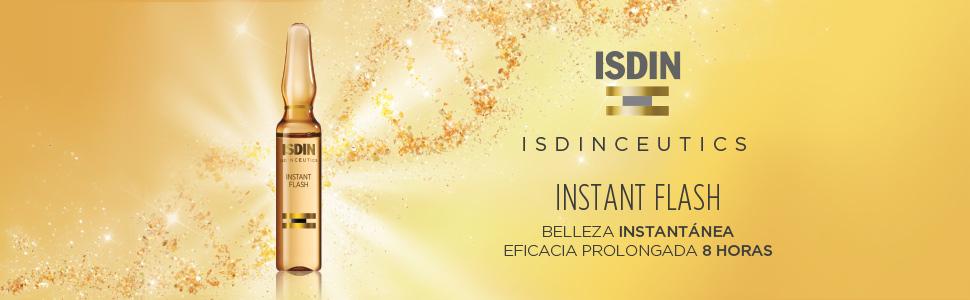 ISDIN Isdinceutics Instant Flash (5 Ampollas Con Efecto De Lifting)
