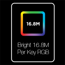 RGB, Backlighing, Per Key, Illumination, Cherry MX, Mechanical Keyboard, Bright, 16.8M, color