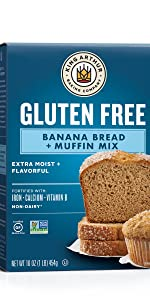 King Arthur Flour Gluten Free Banana Bread Mix