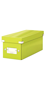 Click and Store Range 60480064 3 Drawers Leitz Drawer Cabinet Green A4