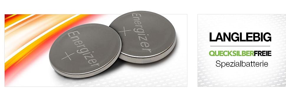 Energizer Cr2016 Batterien Lithium Knopfzelle 2 Stück Elektronik