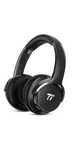 d3dcc693fa0 TaoTronics Active Noise Cancelling Headphones Bluetooth Headphones ...