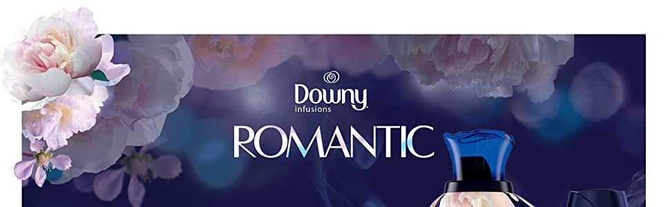downy infusions fabric conditioner romantic scent, fabric softener clothes softener washing machine