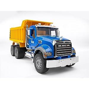 Bruder, bruder toys, bruder speilwaren, MACK, Mack truck, dump truck, Mack dump truck