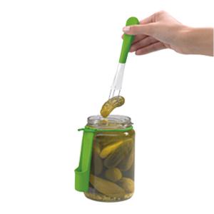 Chef'n Tasteful Ingenuity Fridge Fork Condiment Fork Pickle Olive