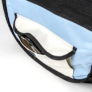 Built-in Side Pocket
