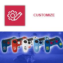 controller dualshock 4 accessorio da gioco gamer fifa 19 20 playstation 4 ps vr seat psg om ol fcb rm