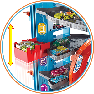 Buy Hot Wheels Ultimate Garage 2018 Multicolour Online At Low Prices In India Amazon In