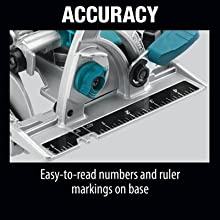accuracy easy read numbers ruler markings base measure mark indicator trace follow