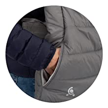 コンフィケープ + 暖かい 使いやすい 冬 ポケット ママ