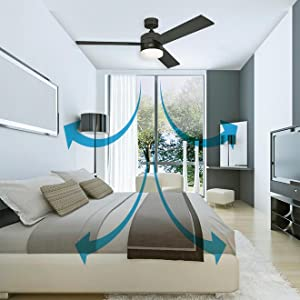 Westinghouse Turbo Swirl Ventilador de Techo E14, 60 W, con cable ...
