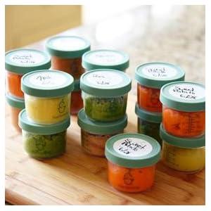 Sage Spoonfuls U2013 Baby Food Storage Jars 3 Pack