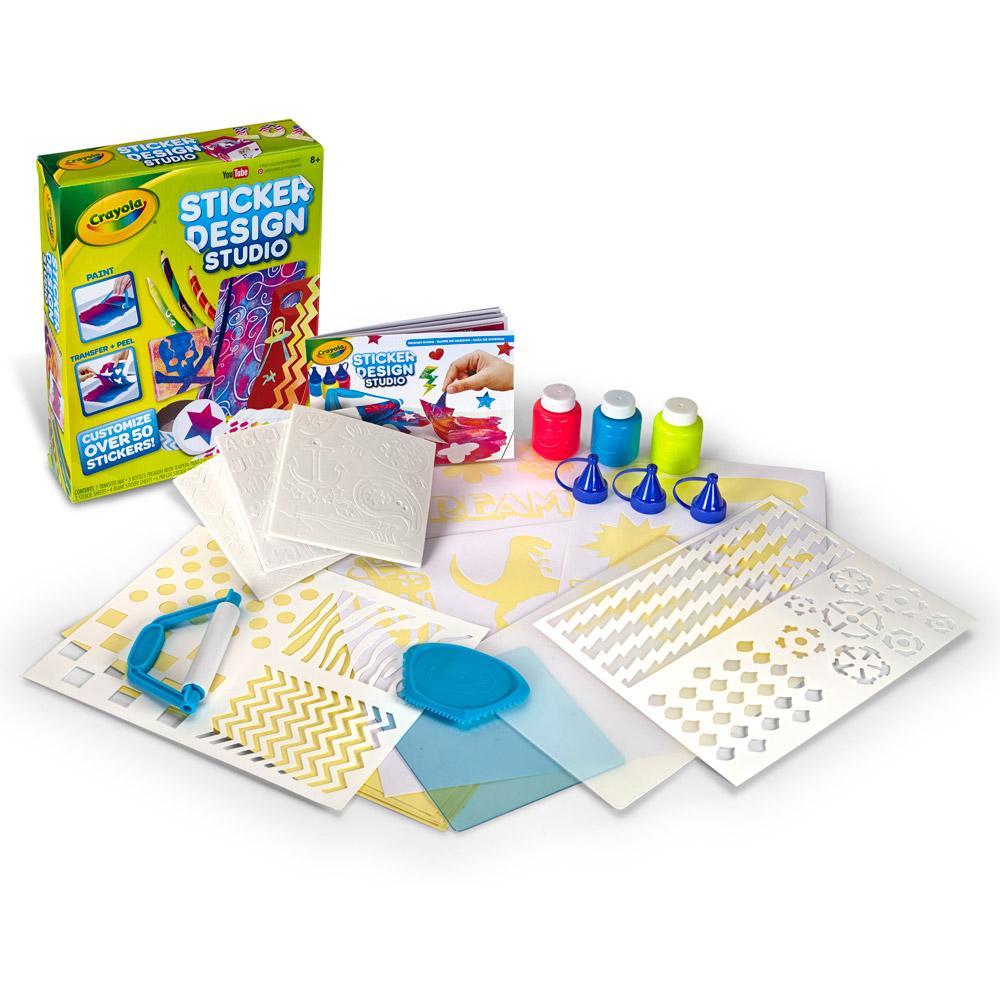 Crayola Sticker Design Studio Toys Games