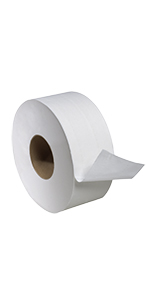 ... Tork Universal TJ0922A Jumbo Bath Tissue Roll, 2-Ply, 8.8