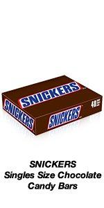 Use SNICKERS Single Size Candy Bars as favors in goodie bags.