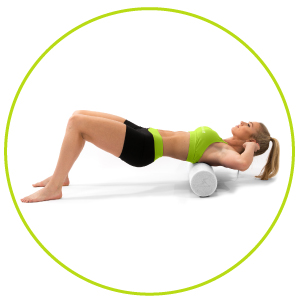 ProSource pilates foam roller, myofascial release foam roller, best foam rollers, runners, Yoga,