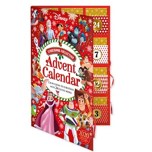 disney, christmas, advent calendar, storybook collection, 2020