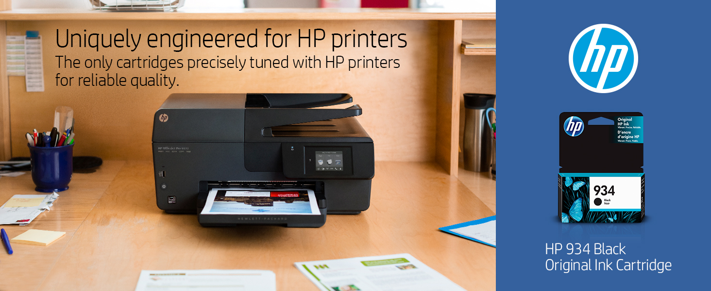 Amazon.com: Original cartucho de tinta HP 934negro ...