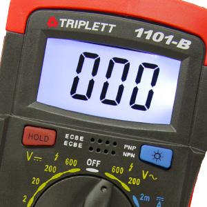 digital multimeter display hold