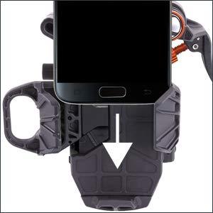 MUJING Adaptateur de Support de Montage pour Smartphone Support de t/él/éphone Portable pour Lunettes de vis/ée de Chasse oculaire de diam/ètre Entre 38-48 mm