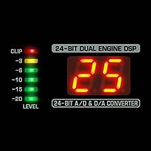 Processeur multi-effets numérique intégré