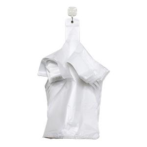 乳白色 白 レジ 袋 エンボス エンボス加工 持ち手 取っ手