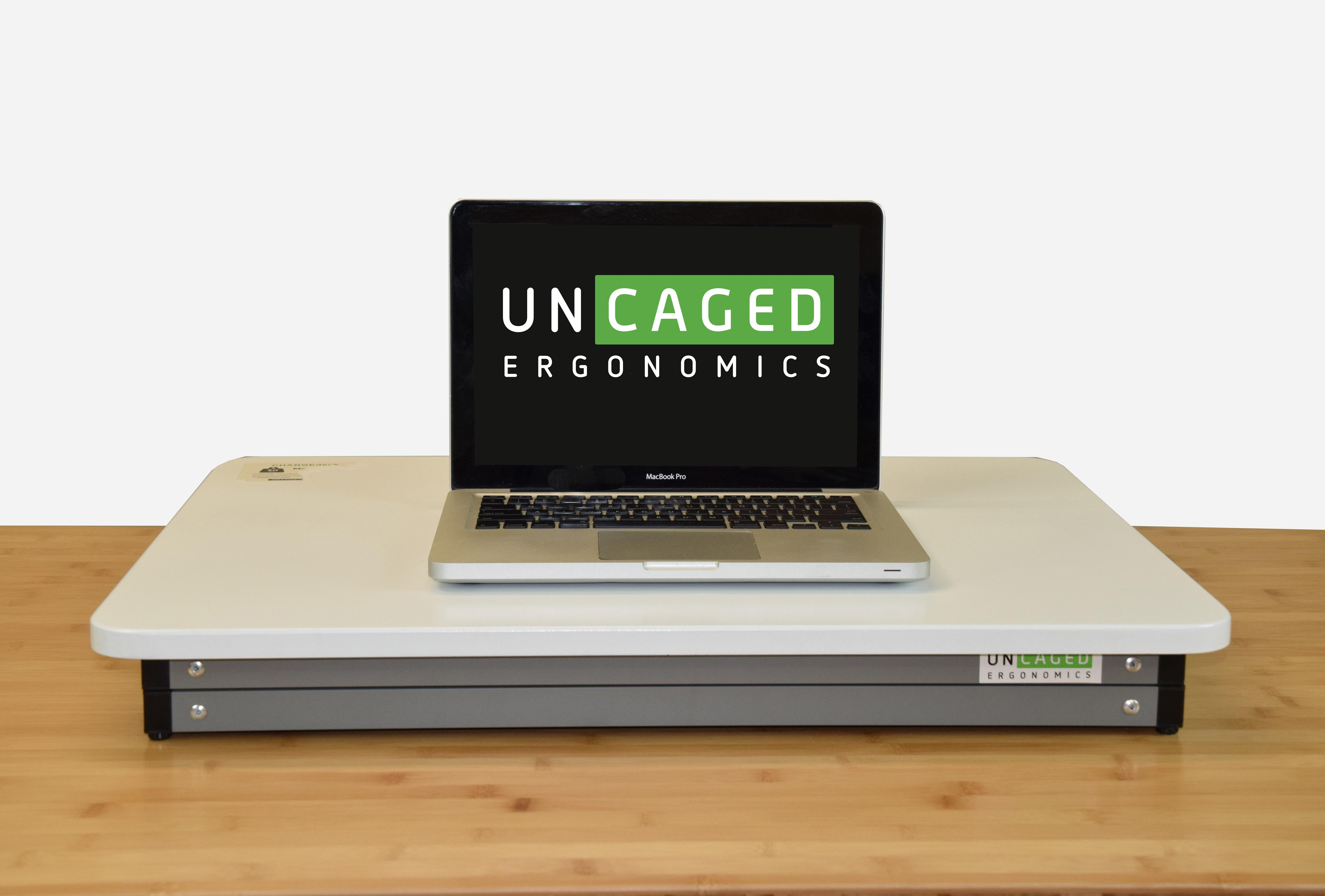Uncaged Ergonomics Quot Changedesk Quot Mini Adjustable Stand Up