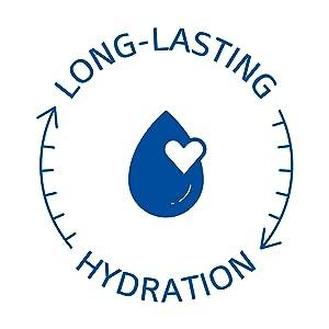 Long lasting Hydration