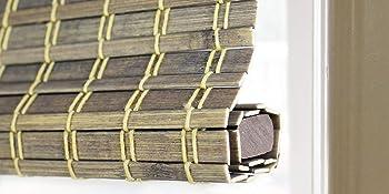 Radiance 2208852E Cordless Roman Shade Driftwood  64 H X 29 W