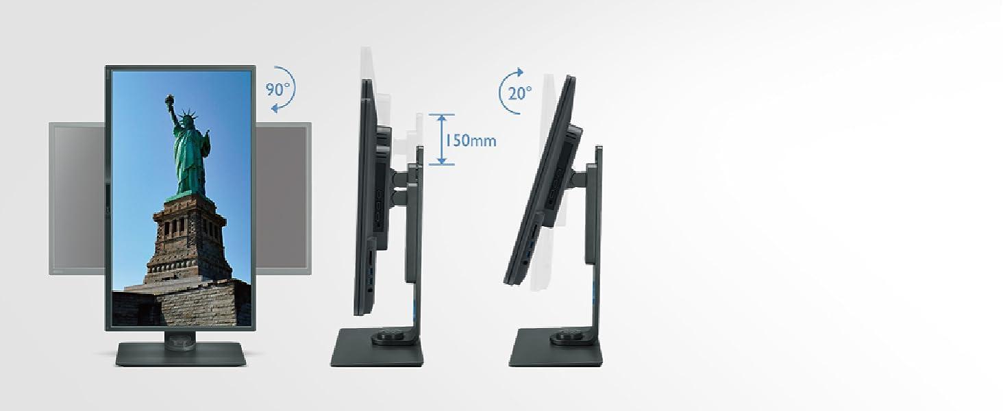 benq_PD3200U_32_inch_monitor_height_tilt_swivel_ergonomic_adjustable_vesa_wall_mountable