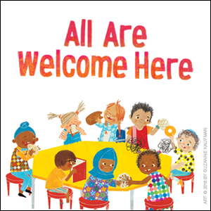 multicultural picture book all are welcome back to school classroom